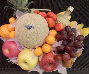 むさしや 果物かご 10,000円(税込10,800円)